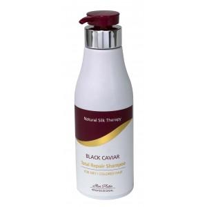 שמפו לשיער יבש מועשר בקוויאר שחור טוטאל ריפר
